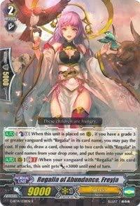 Regalia of Abundance, Freyja - G-BT14/038EN - R - Divine Dragon Apocrypha