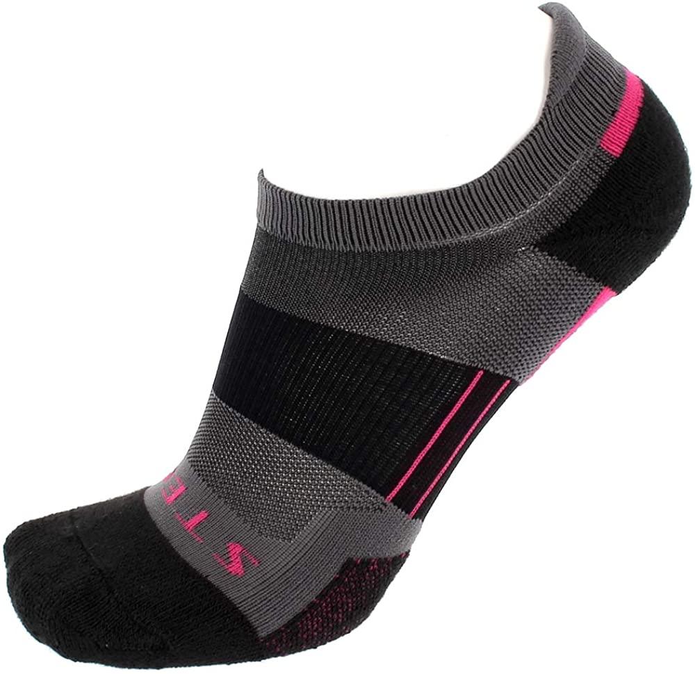 Stego RunTec Women's Lightweight No Show Ankle Running Socks