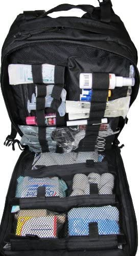 Fully Stocked Stomp Medical First Aid Kit Back Pack by Elite First Aid