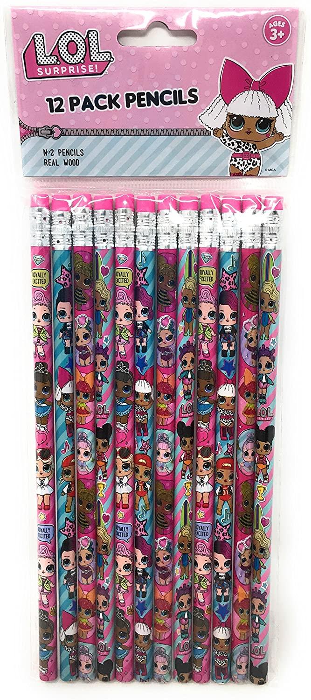 LOL 12 Pack Pencils, No Color, Size No Size