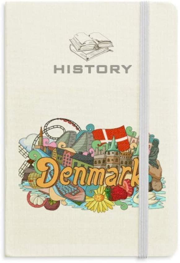 Den Nye Havn Frederiksborg Castle Denmark History Notebook Classic Journal Diary A5