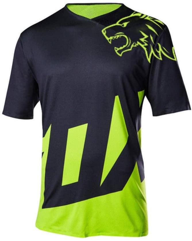 Bayue MTB Jersey Motocross Moto Jersey Mountain Bike Motocross MX Jersey DH Short MTB T Shirt Moto Clothing Zhaozb