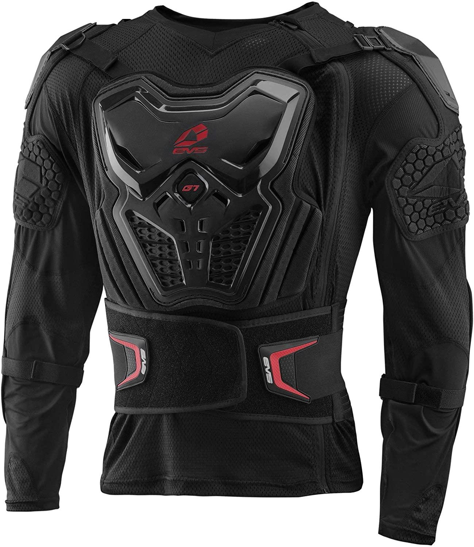 EVS Sports Men's G7 Ballistic Jersey (Black, X-Large)