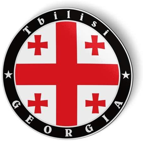Georgia Flag - Flexible Magnet - Car Fridge Locker - 5