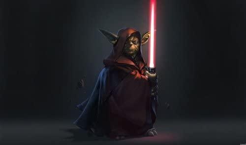 HiddenSupplies.com Dark Side Yoda Playmat