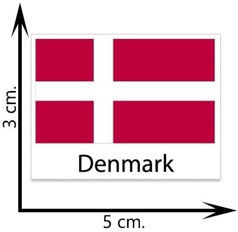 Denmark Flag Temporary Tattoos Sticker Body Tattoo
