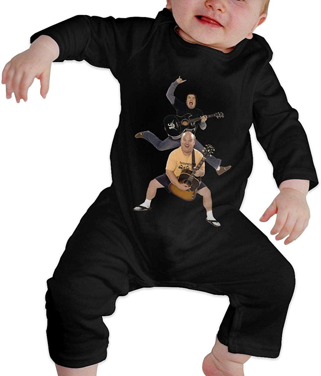 Qq1-asd-store Tenacious D Boys/Girls Baby Cotton Long Sleeve Romper Warm Bodysuit