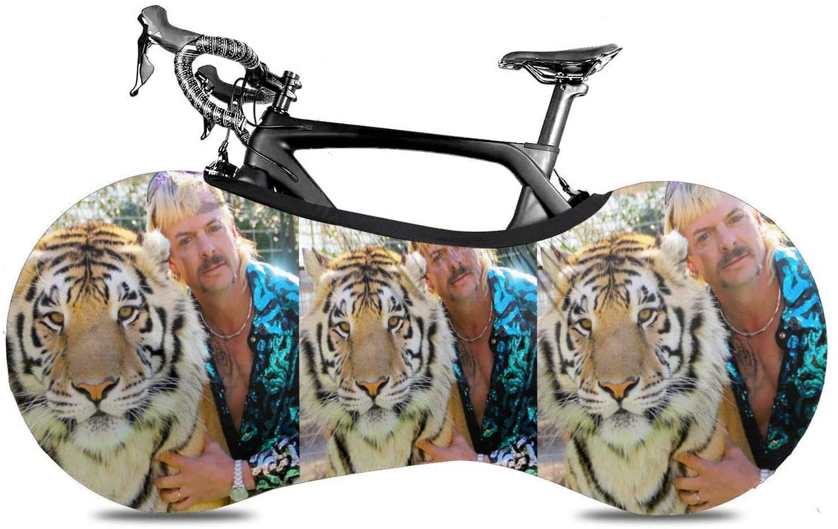 NOT Joe Exotic Tiger King Generous Fashion Personality Bicycle Dust Cover 56cm160cm