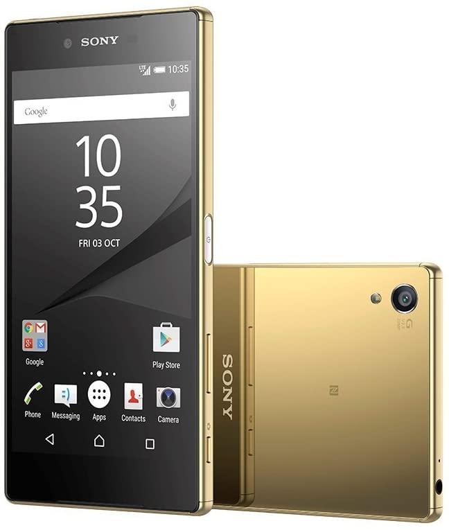 Sony Xperia Z5 Premium E6853 Factory Unlocked Phone, 5.5-Inch 4K UHD Display, Gold International Version