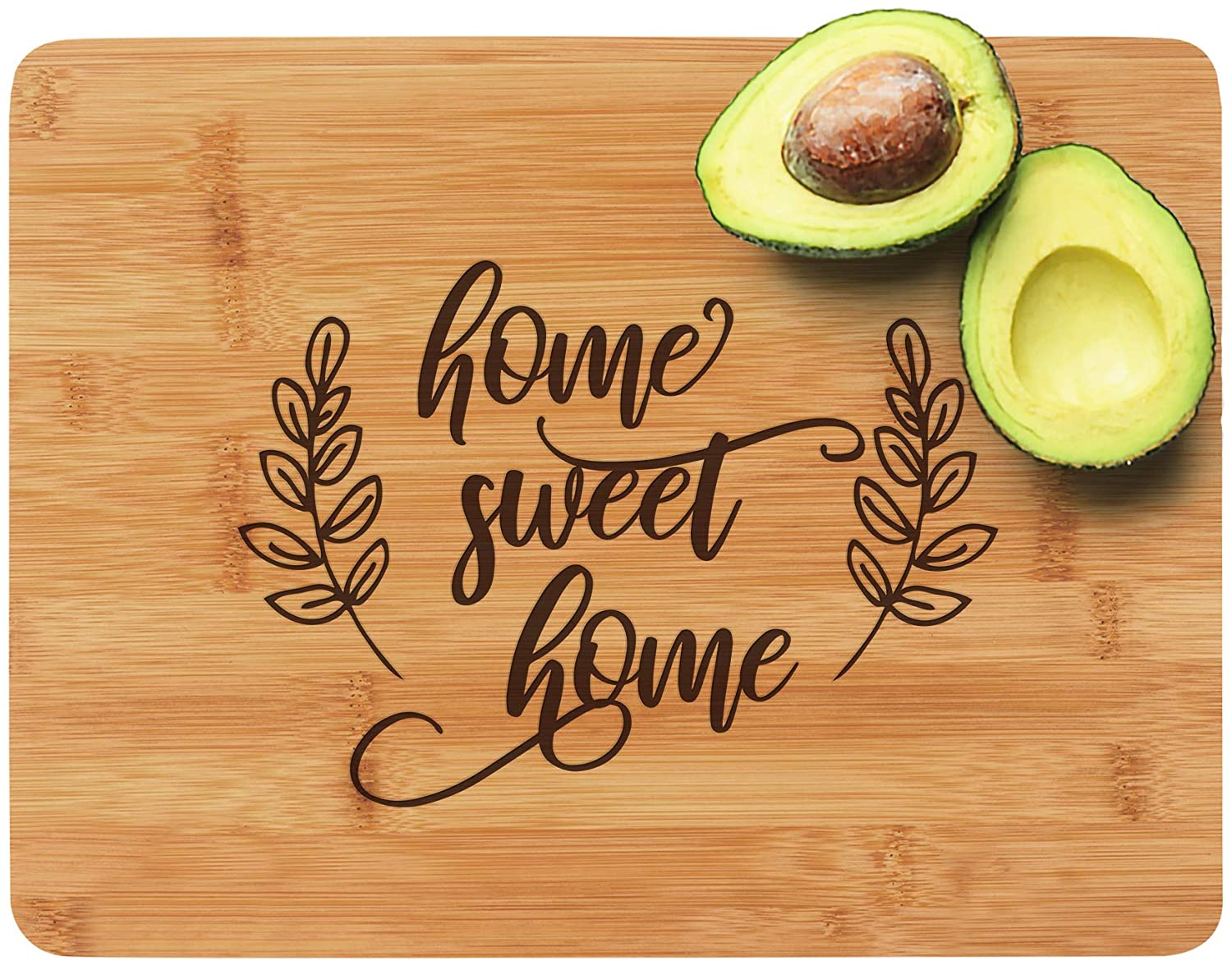 Engraved Cutting Board - Home Sweet Home: a Perfect Gift for Housewarming or as a Closing Gift from a Realtor, 8