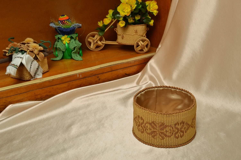 Macrame Woven Box