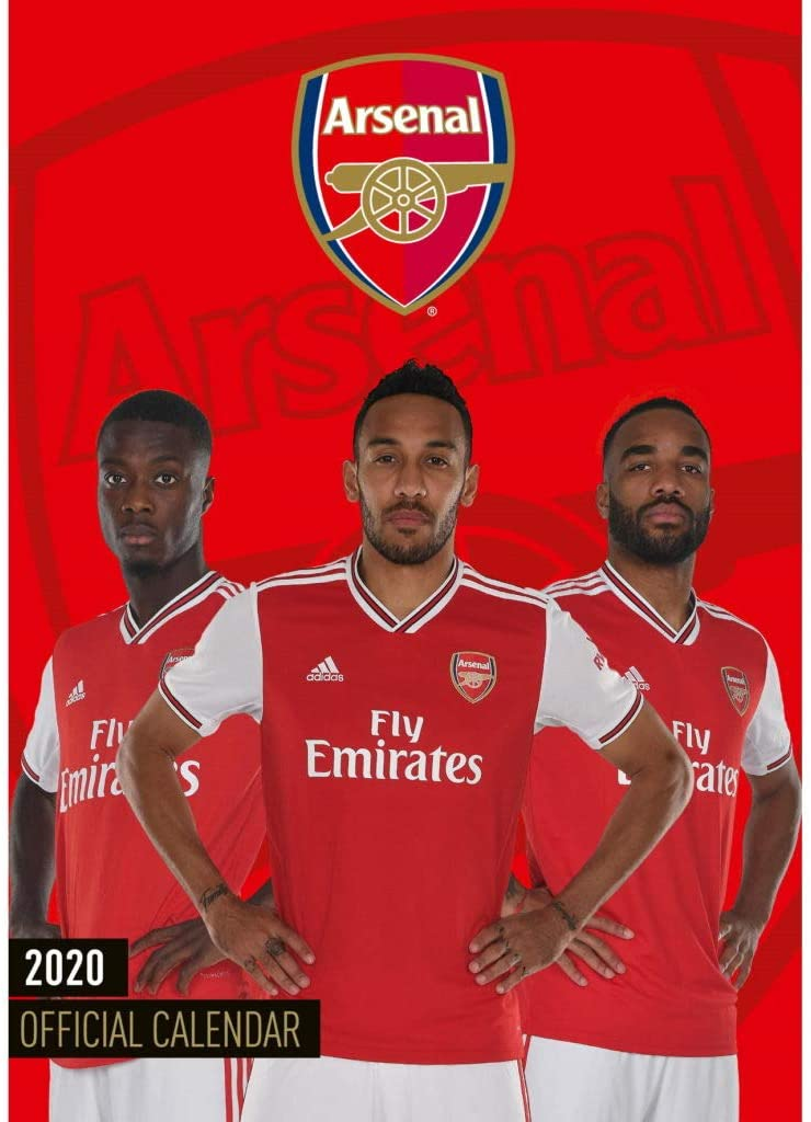 Arsenal - 2020 Calendar