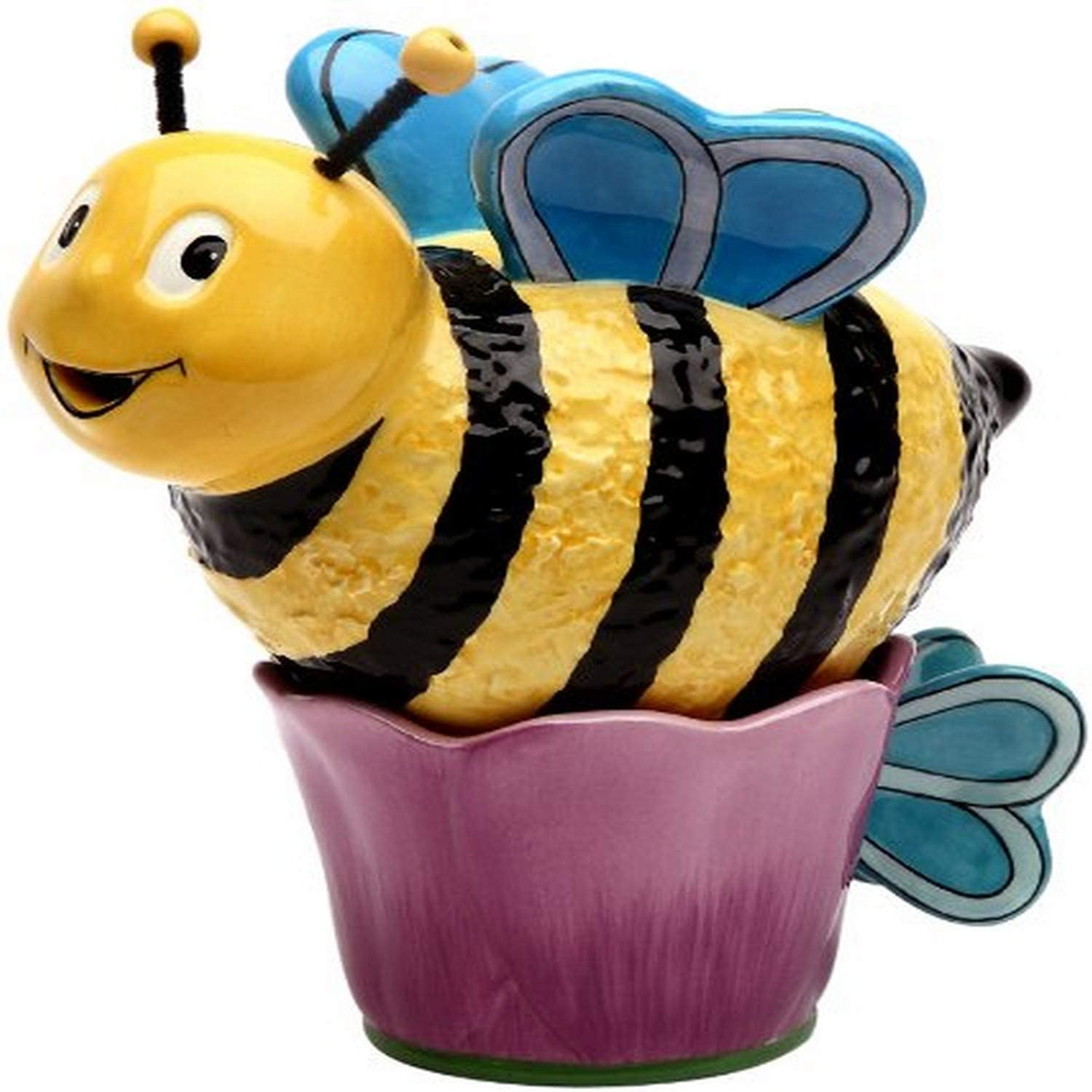 Appletree 6-Inch Ceramic Bee Tea For one