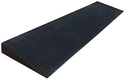 Car Speed Bump 1.5-4.5CM Wheelchair Ramps, Indoor Non-Slip Threshold Ramps, Rubber Slope Pad Skateboard Bicycle Uphill Pad Wear Resistant Rubber Slope