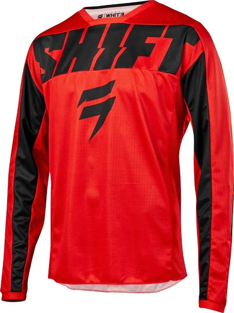Shift 2019 Youth White Label York Jersey-Red-YS