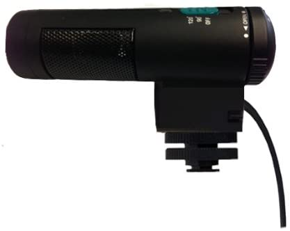 Stereo Microphone with Windscreen (Shotgun) for Canon PowerShot G3 X