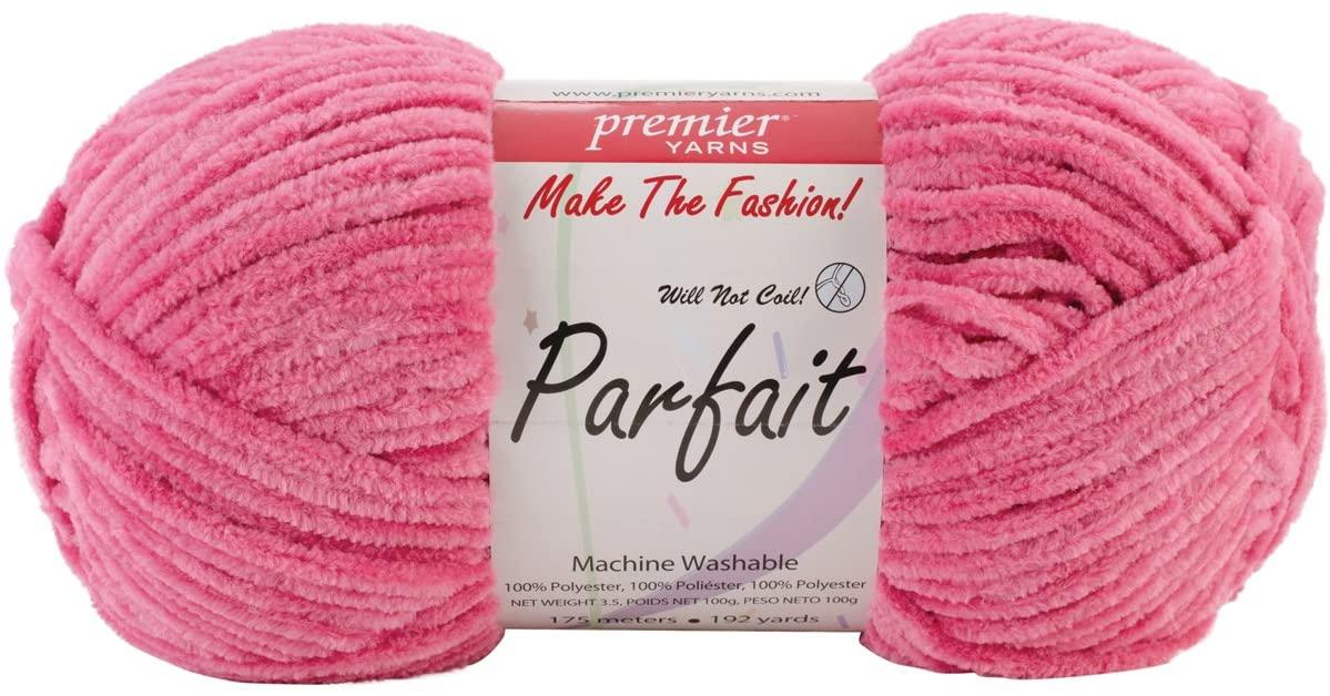 Premier Yarns Parfait Solid Yarn-Cherry