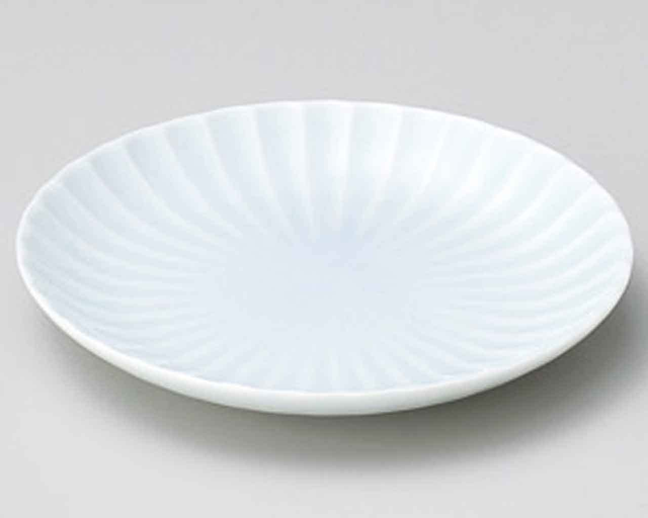 Kasumi Seihakuji 4.9inch Set of 2 Small Plates Blue porcelain Made in Japan