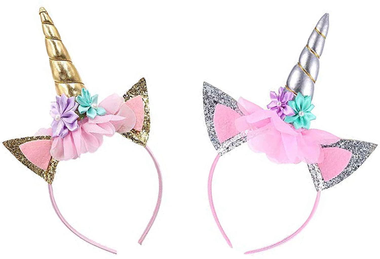 Unicorn Headband for Girls - Perfect Unicorn Party Fantasy Favor