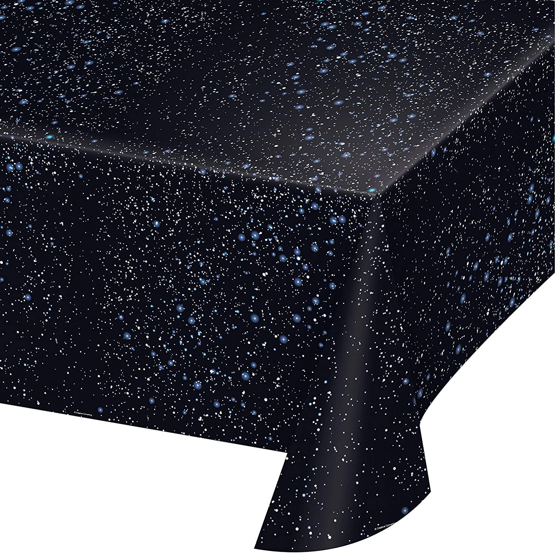 Space Blast Plastic Tablecloths, 3 ct