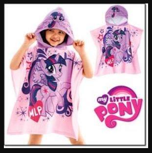Avon My Little Pony Hooded Towel Toddler Princess Twilight Sparkle