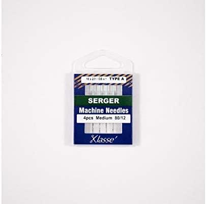 Klasse' Serger Needles Type A (16x231, DBx1, 2053) Size 80/12