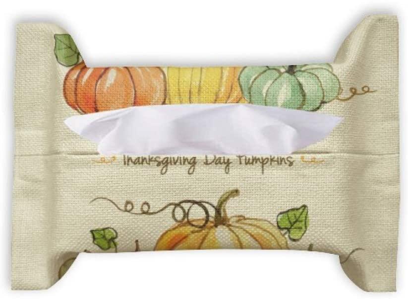 Cartoon Pumkin Thanksgiving Day Pattern Paper Towel Facial Tissue Bag Napkin Bumf