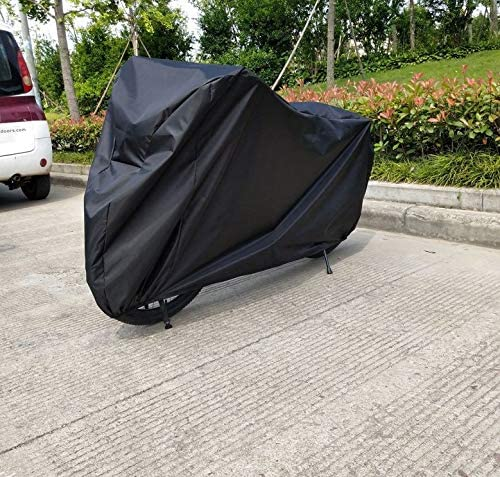zwenzh L 210D Oxford Fabric Waterproof Motorcycle Cover for Suzuki GS 500 F GSX Bandit 400 Sport