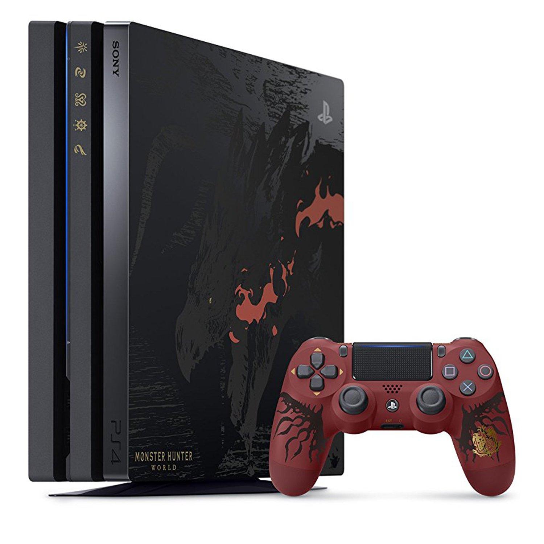 PlayStation 4 Pro MONSTER HUNTER: WORLD LIOLAEUS EDITION