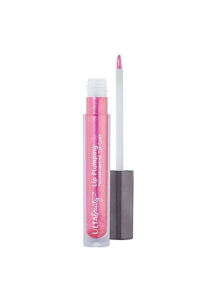 Ulta Beauty Lip Plumping Transforming Top Coat ~ (Bright Blue-pink W/ Pink Pearl) ~ Celestial