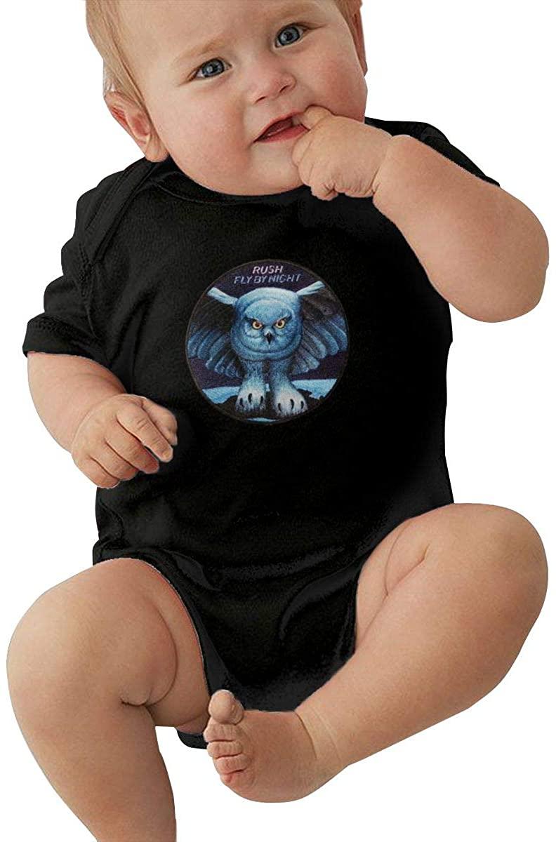 Rush Fly by Night Small Child Unisex Cotton Baby Underwear Short Sleeve