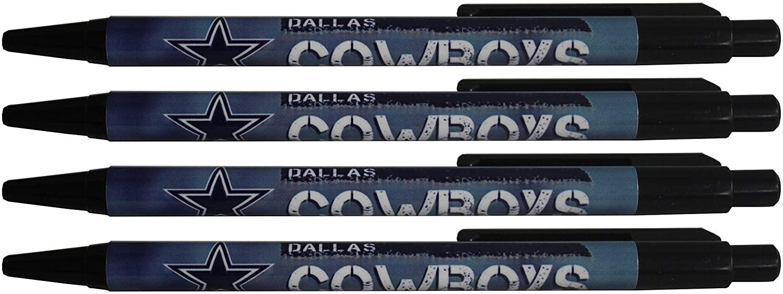 Dallas Cowboys Team Logo Pen 4pk