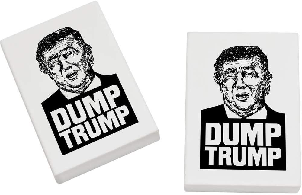 Azeeda 2 x 45mm 'Donald Trump Portrait' Erasers / Rubbers (ER00010988)
