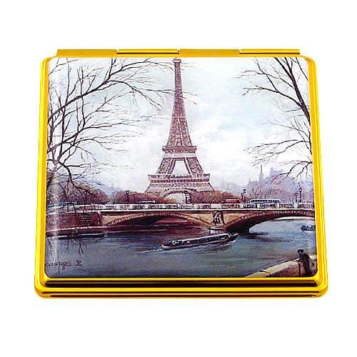 Souvenirs of France - 'Eiffel Tower' Double Handbag Mirror