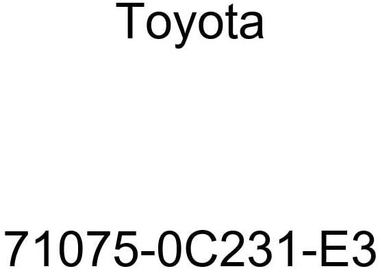 TOYOTA Genuine 71075-0C231-E3 Seat Cushion Cover