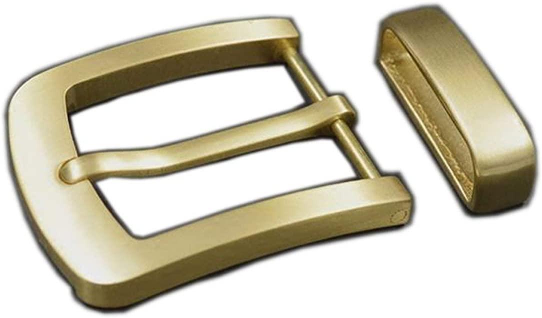 Wide Brass Belt Buckles Men's Waist Buckle Head Cowboy Buckle Belt Clips Buttons DIY Jeans Accessories Leather Craft