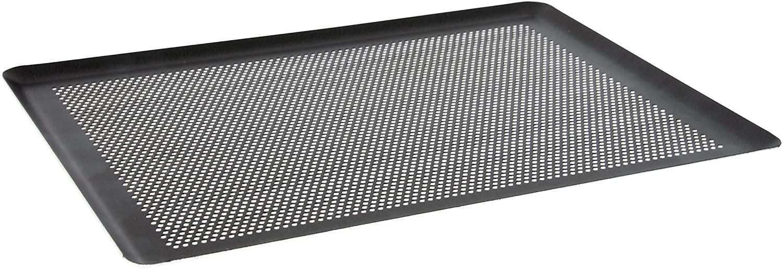 De Buyer 8162.40Perforated Aluminium Patissiere Shock. Plate, 30cm, Aluminium, Grey, 39.5x 29.5x 1cm