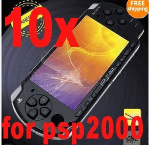 10x LCD screen protector for Sony PSP 1000 & PSP 2000