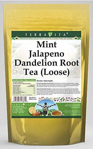 Mint Jalapeno Dandelion Root Tea (Loose) (4 oz, ZIN: 570716) - 3 Pack