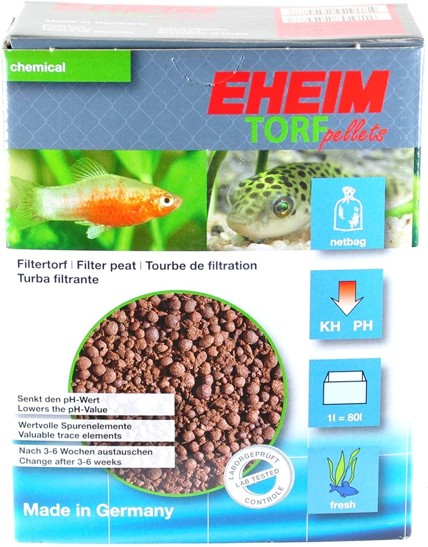 Eheim Aquarium Filter Media Peat, Torf Pellets 1 Litre