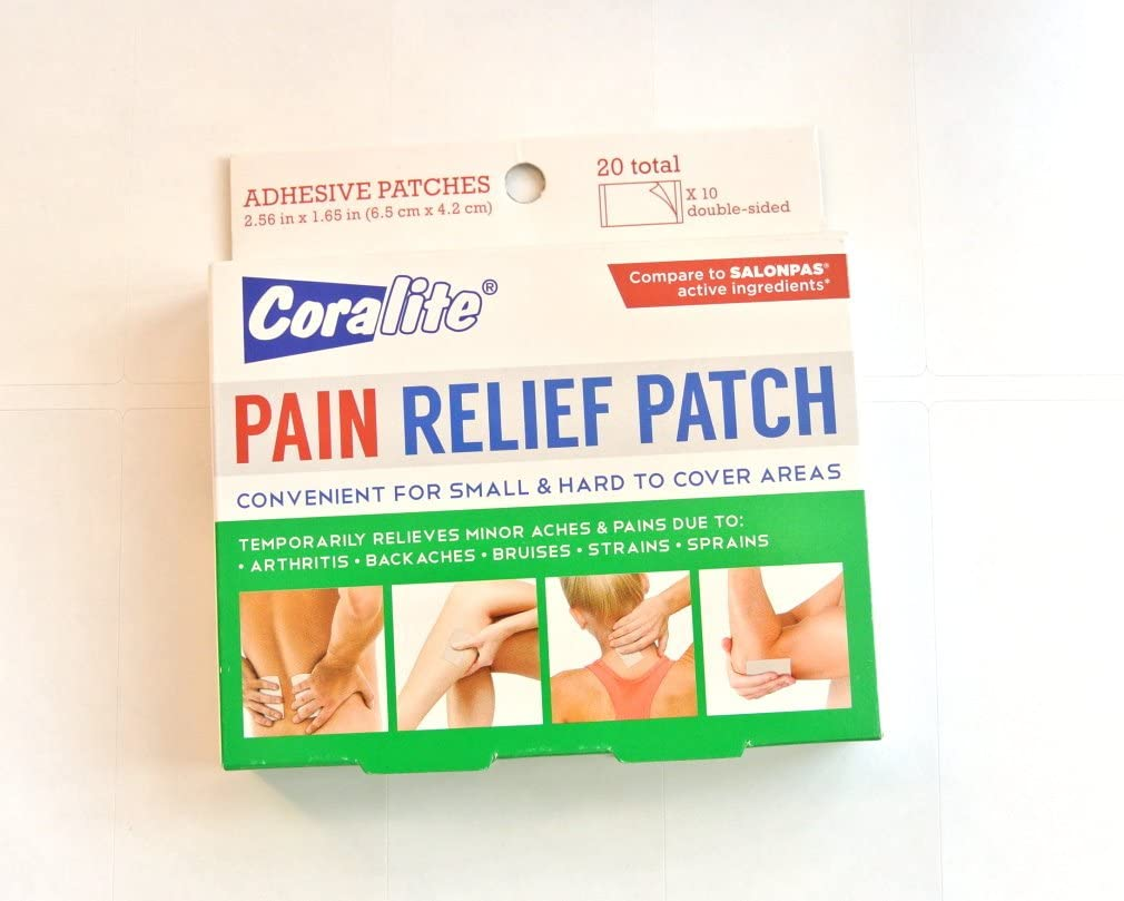 Coralite Muscle Joint Pain Relief Patch