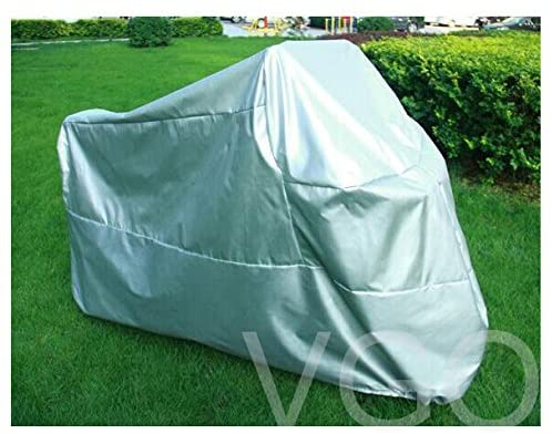 Motorcycle Cover For Honda Goldwing UV Dust Prevention XXL Silver