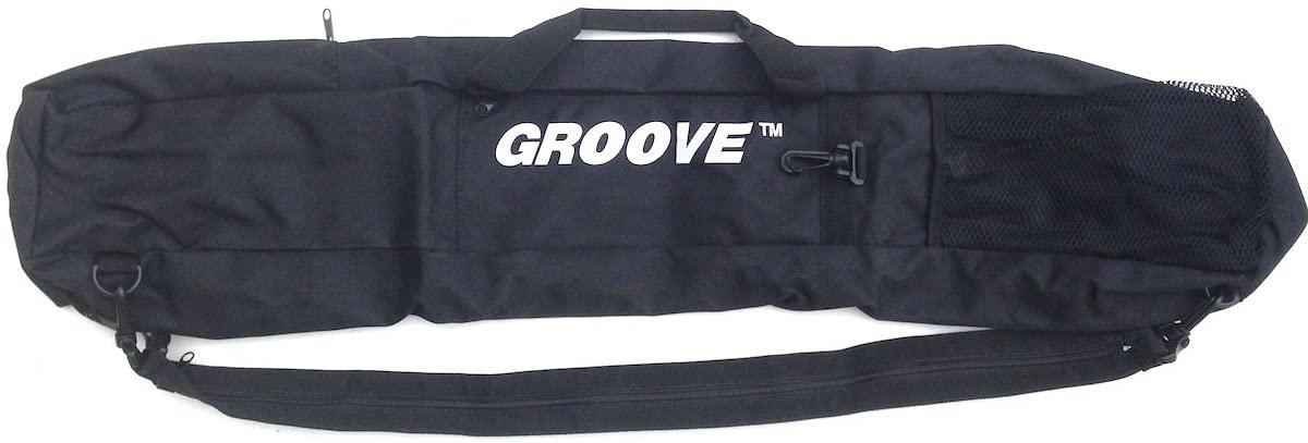 Groove Skiboard/Snowblade/Junior ski Carry Bag and Backpack 90cm Black