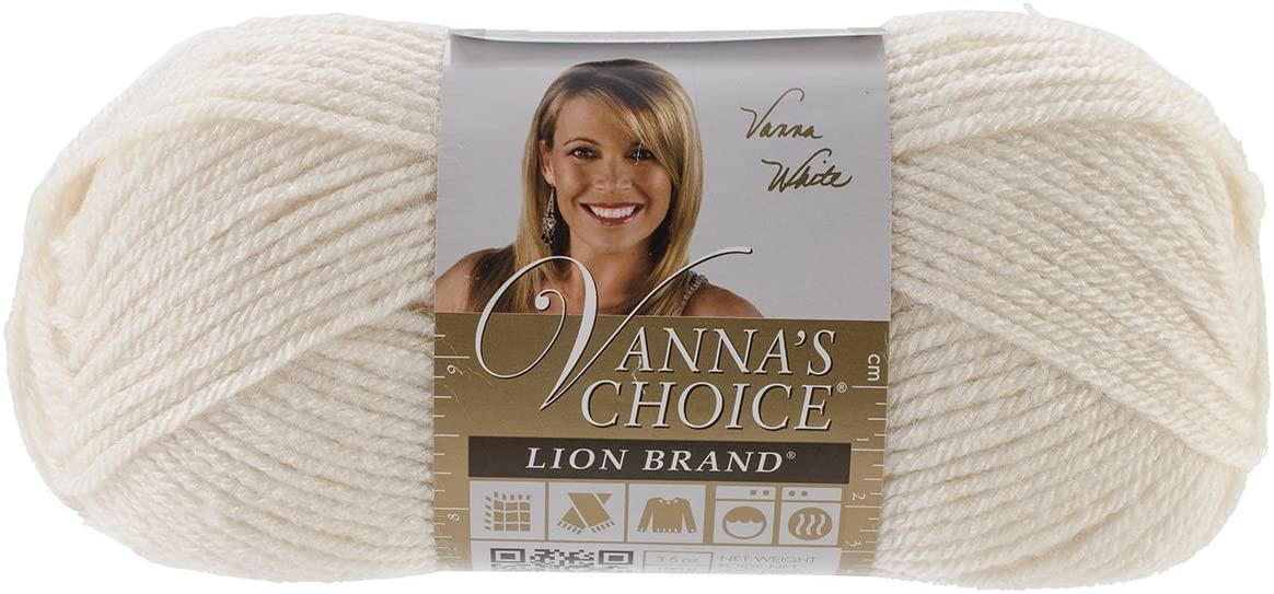 Lion Brand Yarn 860-098 Vanna's Choice Yarn, Fisherman