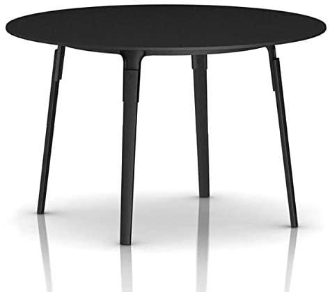 Magis Steelwood Table diam. 47,24 inch Black