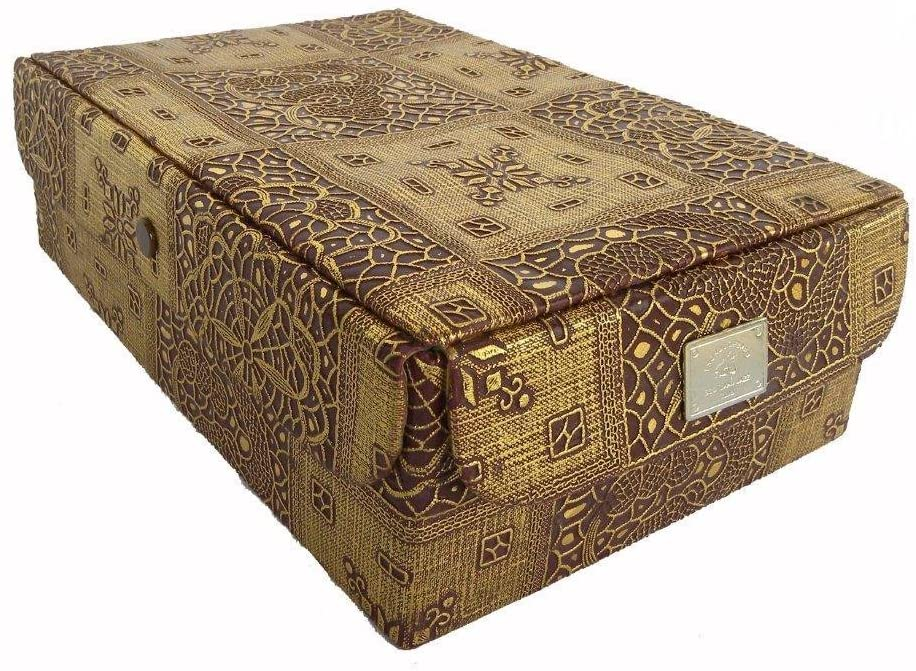 Sunrise Exporters Indian Handmade Bangles An Jewellery Box 4 Part Multi Use Size:- (Inche) 11x7.5x3.75