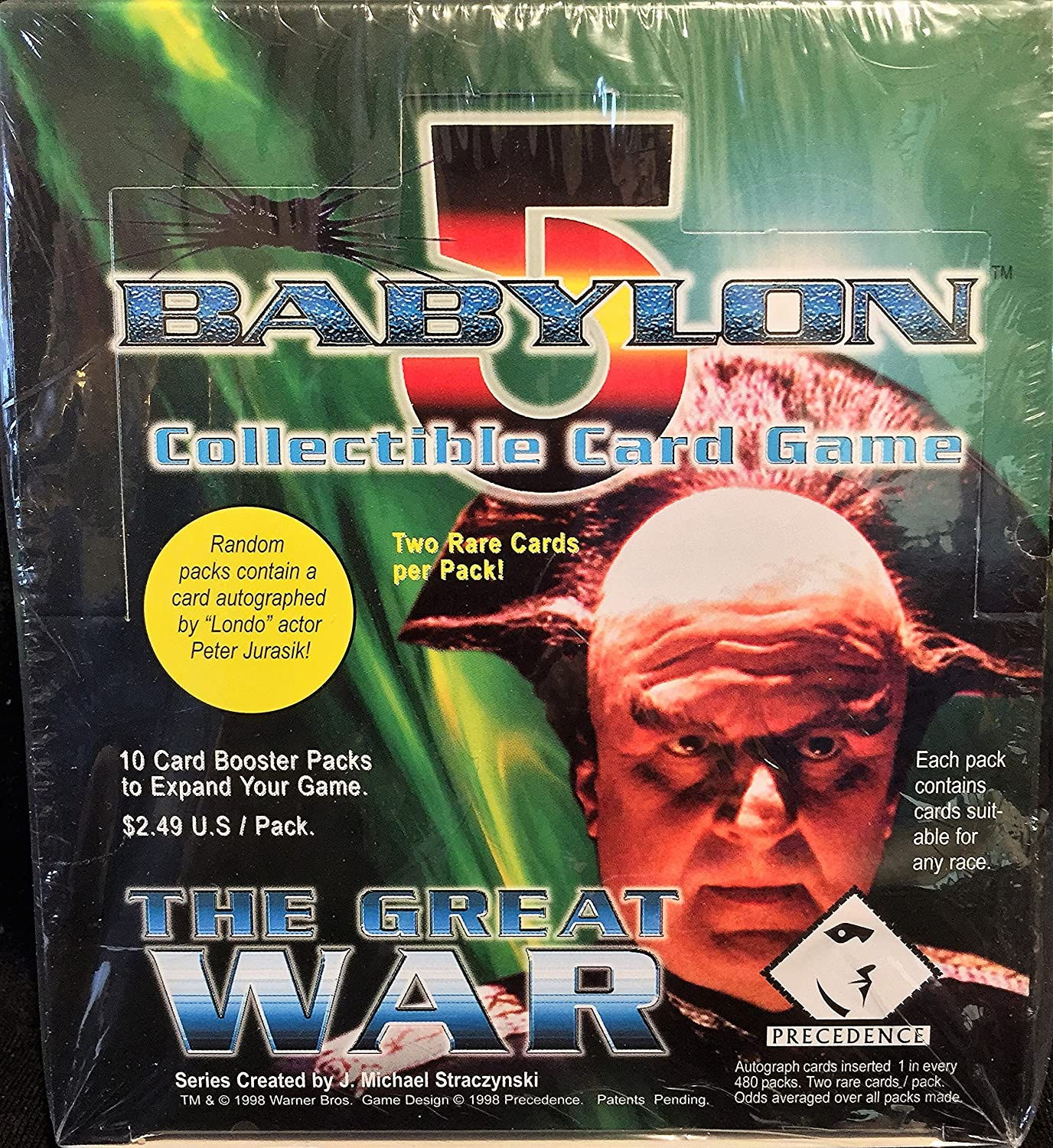 Babylon 5 Collectible Card Game [CCG]: Great War Booster Box