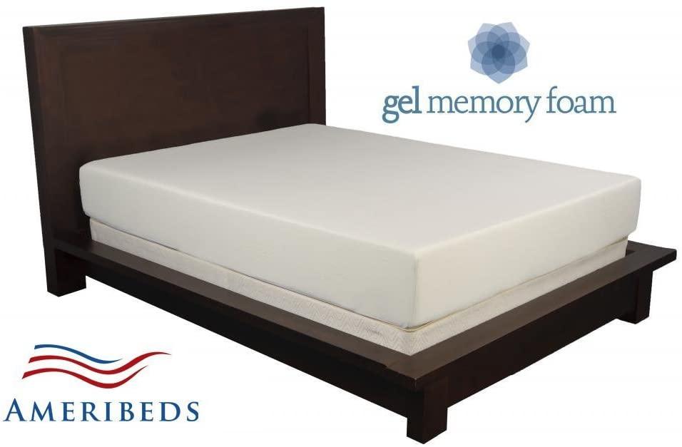 Ameribeds Revolution - 10-inch Gel Memory Foam Mattress with 20 Year Warranty (Cal King)