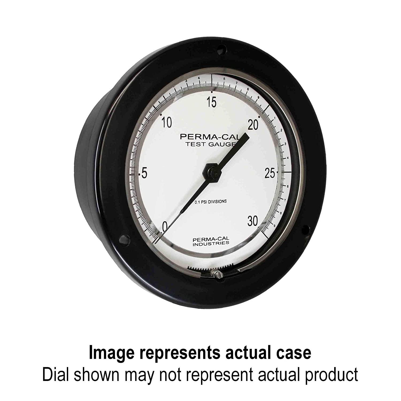 Pressure Gauge, Gearless, Process, 0-6000 psi, 4.5