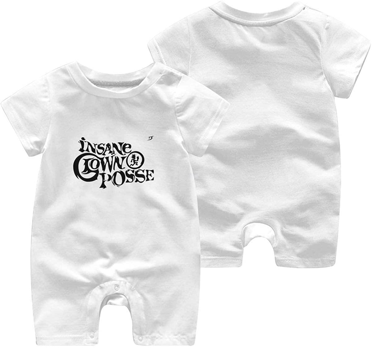 ElizabethBBussey Insane Clown Posse Baby Romper Newborn Cotton Pajamas Jumpsuit Crawling Suit